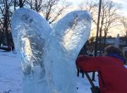 SOURCE, ice sculpture, Uppsala Sweden