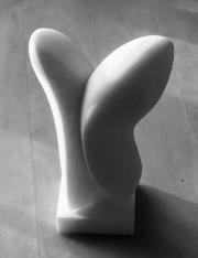 Source, small Statuario marble 30 cm high