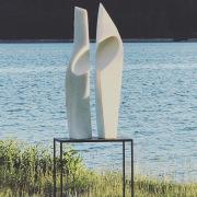 ELLIPSE in white Estremos marbleEE-1