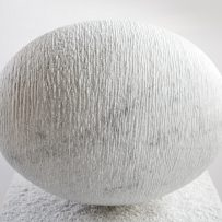 The Egg in Carrara marble, 800 kg, December 2016