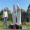 """Memorial """"ELLIPS"""" in Umeå, Sweden"""